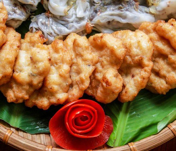 CHẢ MỰC GIÃ TAY HẠ LONG   500g - Hồn Việt Store