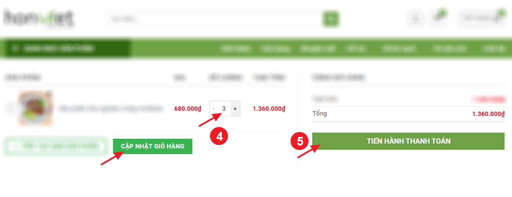 Hướng dẫn đặt hàng - Hồn Việt Store