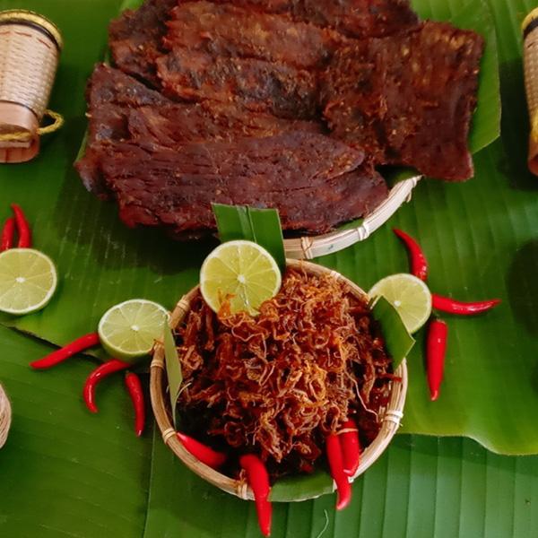 Cách nhận biệt khô bò xịn nguyên chất - Hồn Việt Store