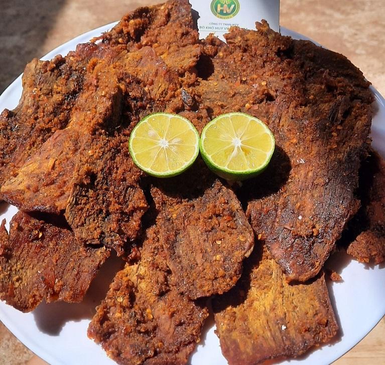 thịt bò khô miếng cao cấp