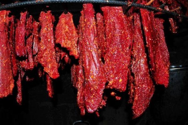 thịt gác bếp