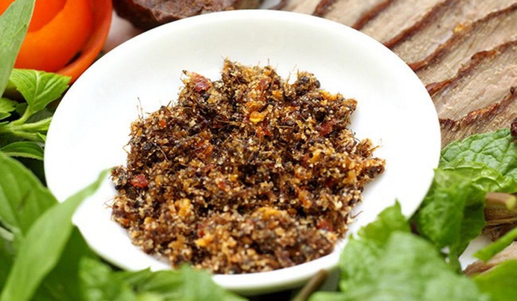 Độc đáo gia vị muối kiến vàng - Hồn Việt Store