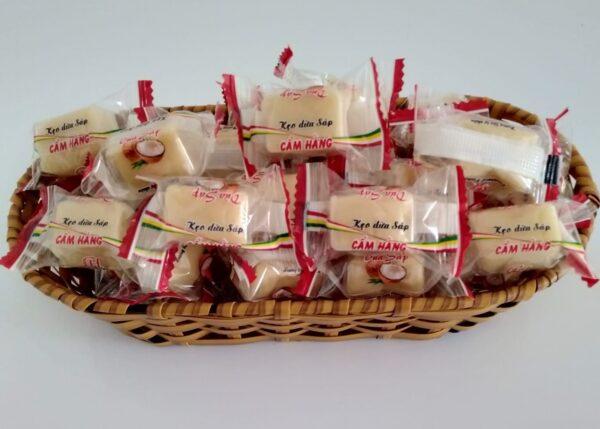 kẹo dừa sáp Trà Vinh