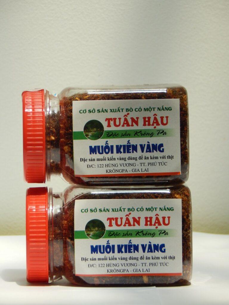 muối kiến vàng Phú Yên Gia Lai
